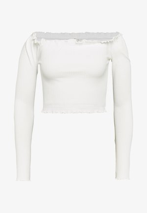 CROPPED - Blouse - white