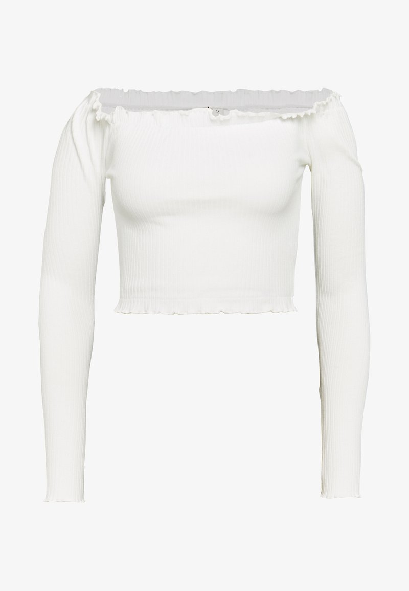 Nly by Nelly - CROPPED - Blouse - white