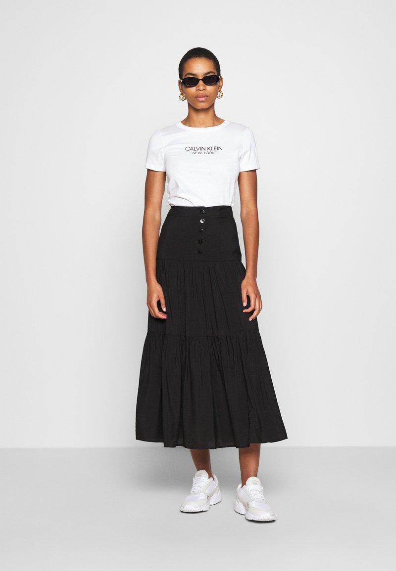 Calvin Klein - 2 PACK - Triko spotiskem - black/white