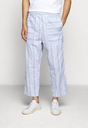 KAII SHIRT PANTS - Trousers - blue