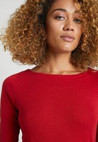 Esprit - Maglietta a manica lunga - dark red - 3