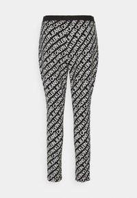 Calvin Klein Jeans - MILANO LOGO  - Leggings - Trousers - institutional black - 6