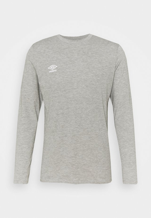 SMALL LOGO TEE - Top sdlouhým rukávem - grey marl