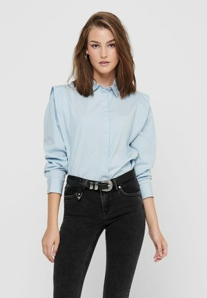 Button-down blouse - cashmere blue