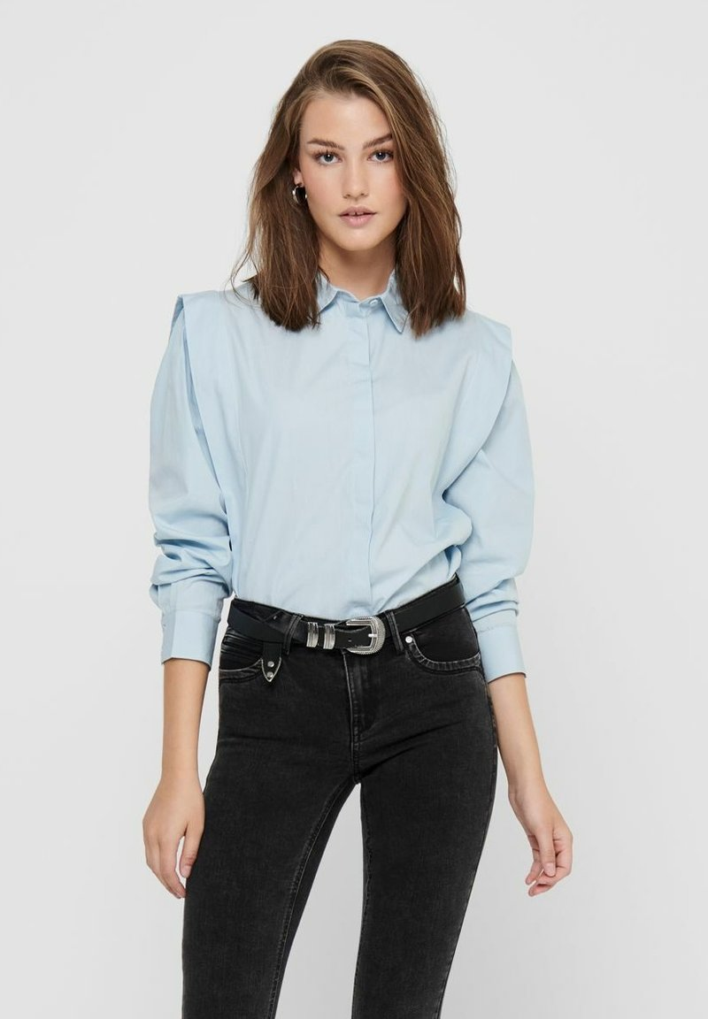 ONLY - Button-down blouse - cashmere blue