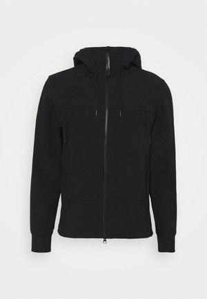 SHELL GOGGLE JACKET - Summer jacket - black