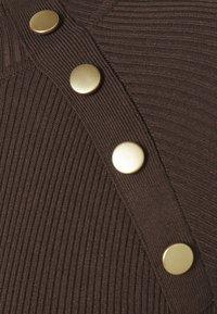 JDY - JDYPLUM BUTTON  - Jumper - chocolate brown - 2