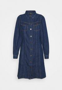 DRESS - Denim dress - rinse