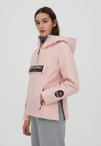 PULL&BEAR - PACIFIC REPUBLIC - Winter jacket - rose - 3