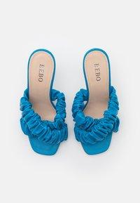 BEBO - LYANNA - Heeled mules - blue - 5