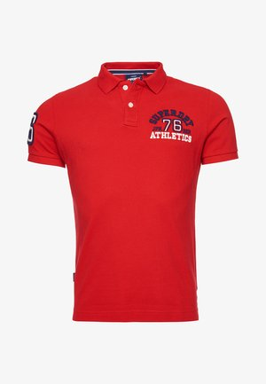 CLASSIC SUPERSTATE - Polo shirt - rouge red