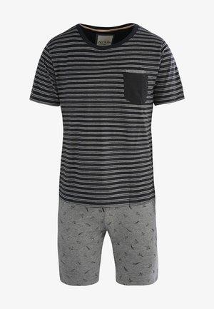 SET - Pyjama - graublau