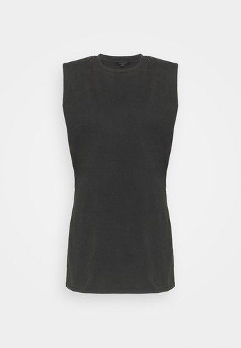 CONI TANK DRESS - Jersey dress - black