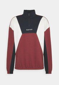 Kaotiko - UNISEX CREW ARNOLD - Sweatshirt - granate - 5