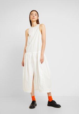 TATLIN POPLINDRESS - Maxi dress - off white