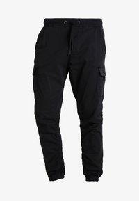INDICODE JEANS - LAKELAND - Cargo trousers - black - 5