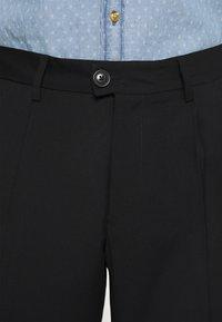 Jack & Jones PREMIUM - JJIBILL JJJORDY CROPPED - Pantaloni - black - 4