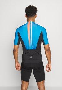LÖFFLER - BIKE HOTBOND® - Print T-shirt - brillant blue - 2