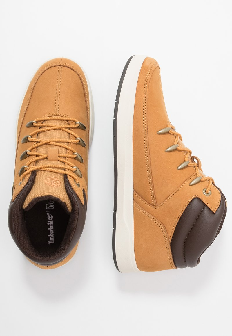 Timberland - DAVIS SQUARE - High-top trainers - wheat