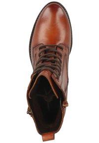 Bugatti - Lace-up ankle boots - cognac - 1