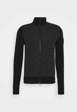 NEW KELBY ZIP CARDIGAN - Veste mi-saison - black
