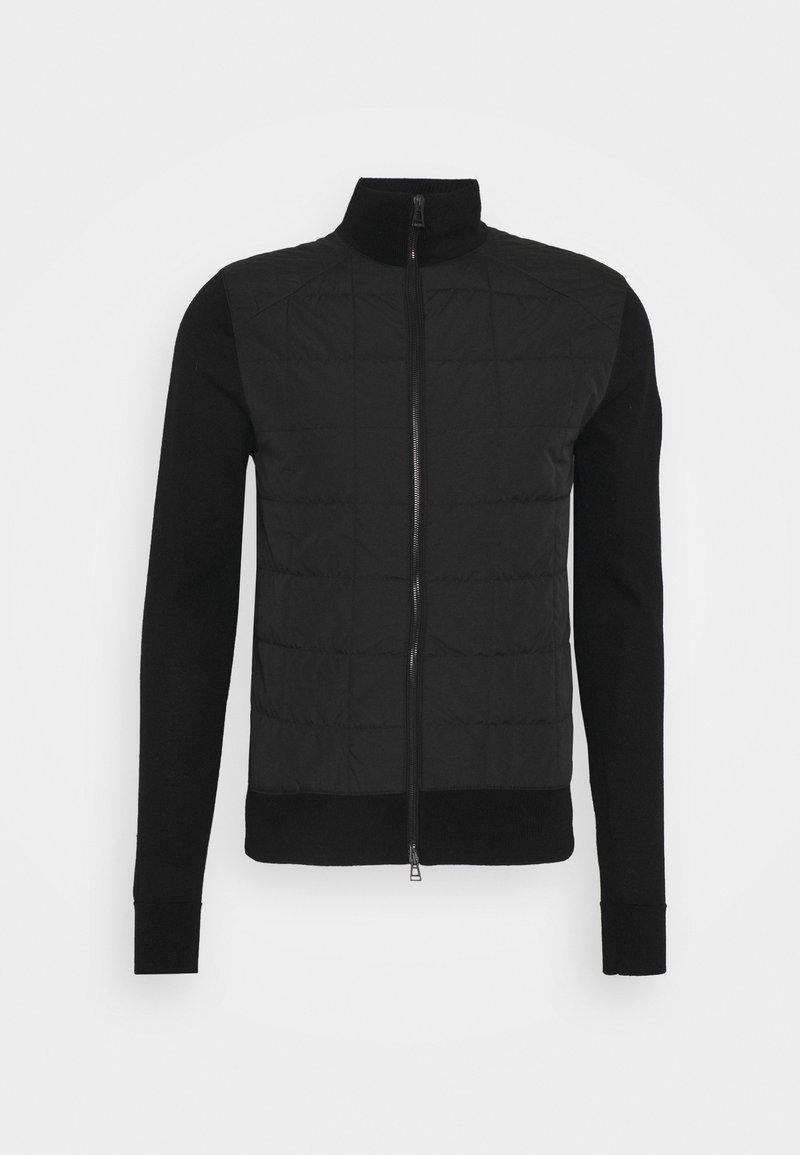 Belstaff - NEW KELBY ZIP CARDIGAN - Lehká bunda - black
