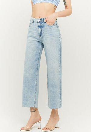 HIGH WAIST CULOTTE  - Flared Jeans - blu021
