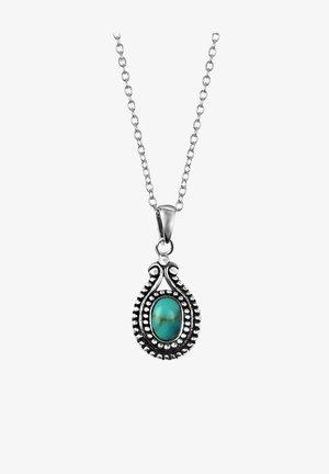 BALI - Necklace - zilverkleurig turquoise