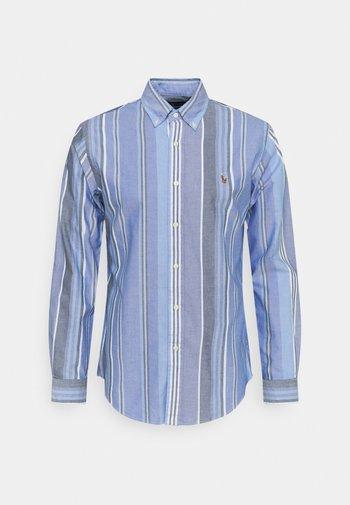 Shirt - blue/white