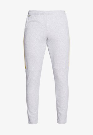 Tracksuit bottoms - silver chine/jonquille-black