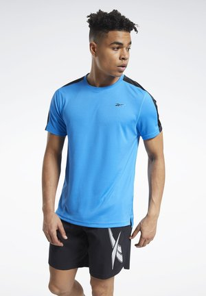 WORKOUT READY TECH TEE - T-shirts basic - blue