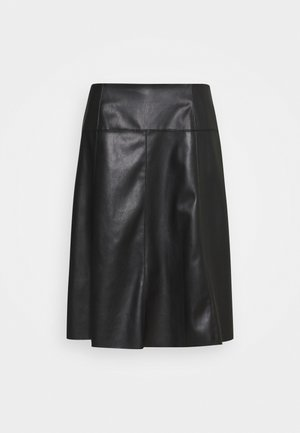 SKIRT LOOK - A-line skirt - deep black