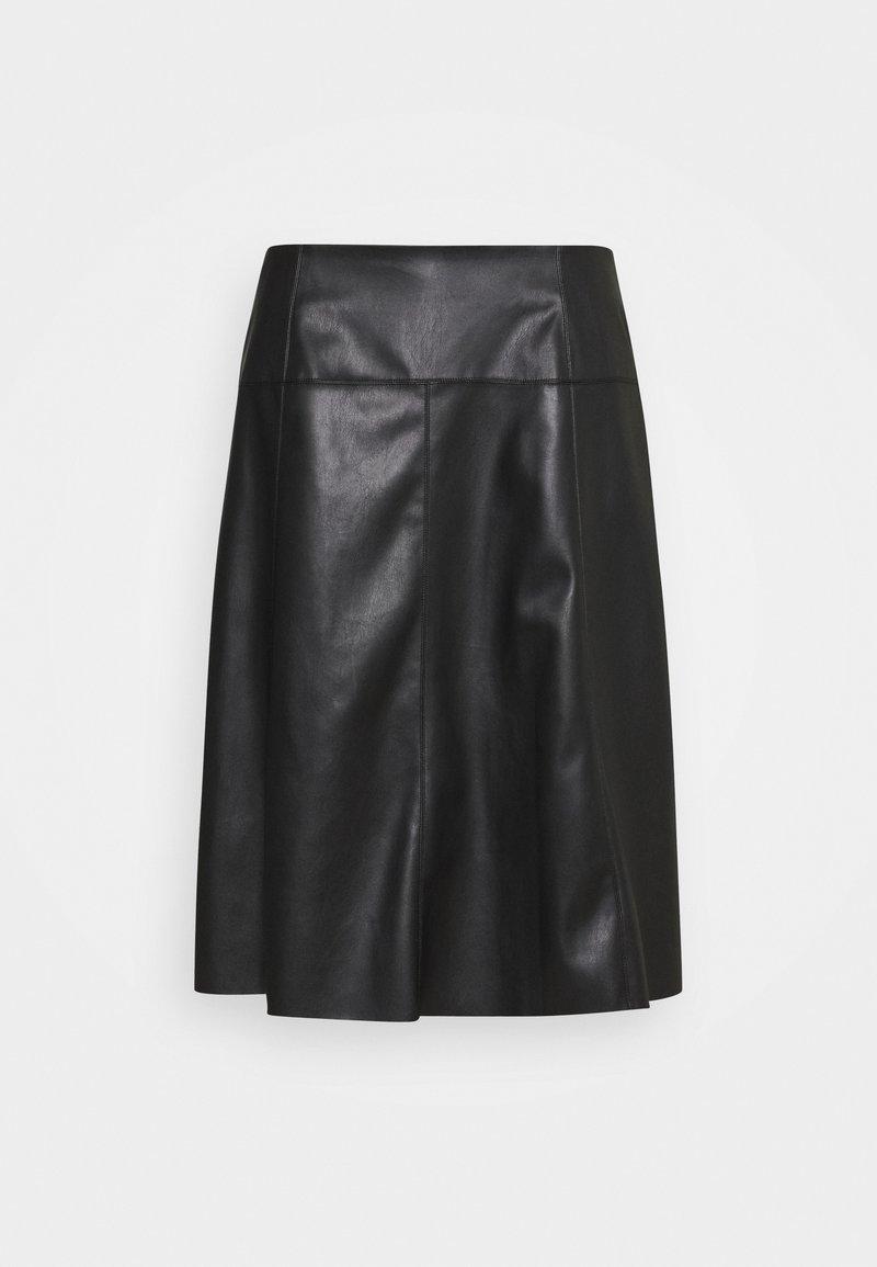 MY TRUE ME TOM TAILOR - SKIRT LOOK - A-line skirt - deep black