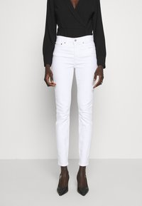 J.CREW TALL - LOOKOUT HIGH RISE - Jeans Slim Fit - white - 0