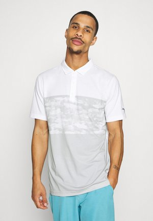CAMOBLOCK - Polo shirt - bright white