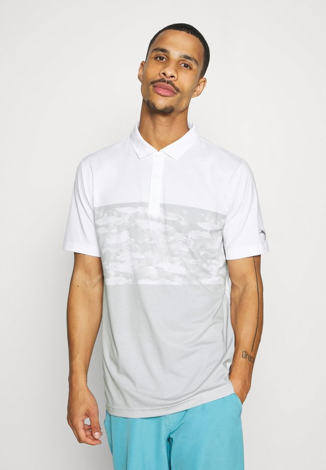 CAMOBLOCK - Polo - bright white
