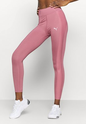PAMELA REIF X PUMA HIGH WAIST BLOCK LEGGINGS - Medias - mesa rose