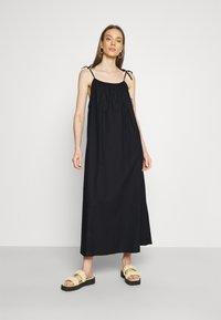 Monki - ELSA DRESS - Day dress - black - 0