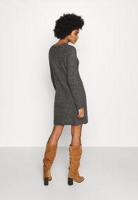 ONLY - ONYSALLIE DRESS - Jumper dress - dark grey melange - 2