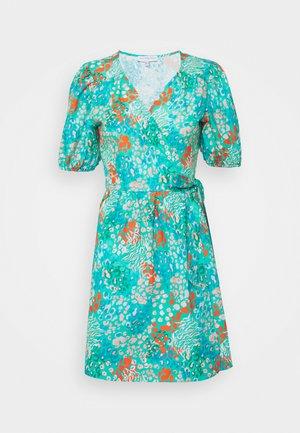 DISTY BLUE MINI DRESS - Robe d'été - blue