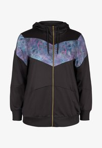 Active by Zizzi - MIT PRINTDETAILS - Training jacket - black - 3