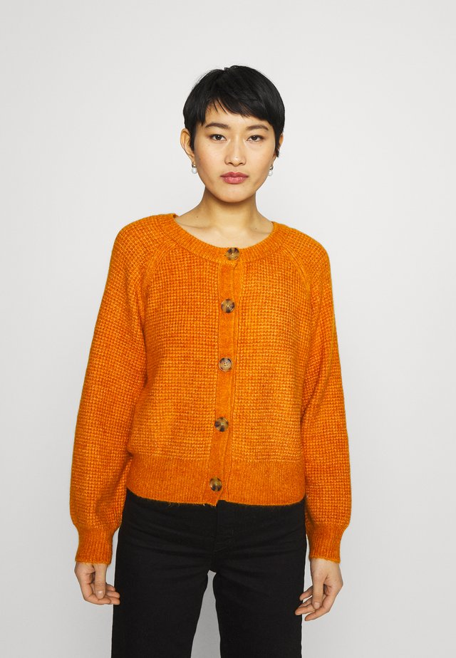 CARDI AIRY - Cardigan - golden poppy