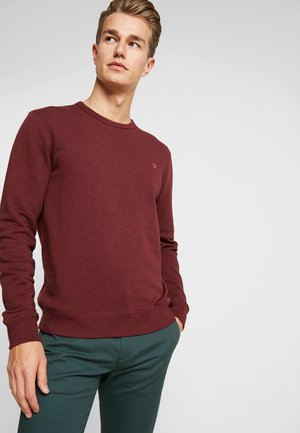 TIM CREW - Sweatshirt - farah red marl
