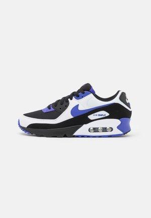 AIR MAX 90 - Sneakersy niskie - black/persian violet/white