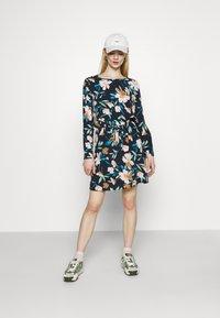 ONLY - ONLNOVA LUX DRAW STRING DRESS - Day dress - night sky - 1