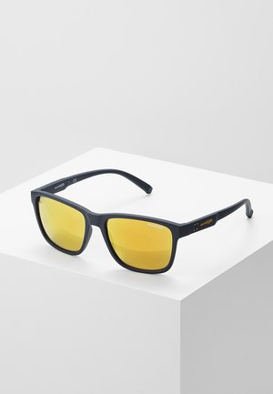 Sunglasses - matte blue/brown