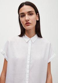 ARMEDANGELS - Button-down blouse - white - 3