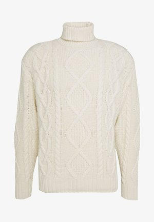 DIDRIK - Strickpullover - dusty white