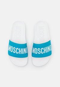 MOSCHINO - UNISEX - Mules - blue - 3