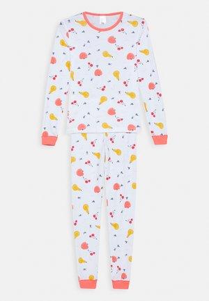 KIDS SCHLAFANZUG LANG - Pyjama set - weiß